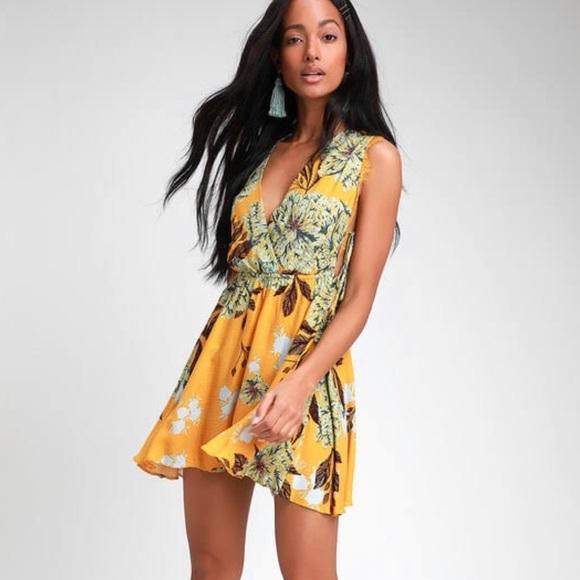 7292af5a3548 Free People Dresses | Golden Marnie Slip Dresssize Med | Poshmark